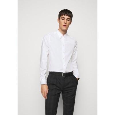 ポールスミス シャツ メンズ トップス MENS TAILORED FIT - Formal shirt - white