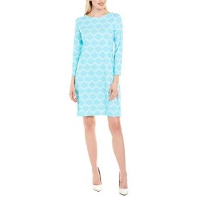 メリーエム レディース ワンピース トップス Melly M Shift Dress turquoise