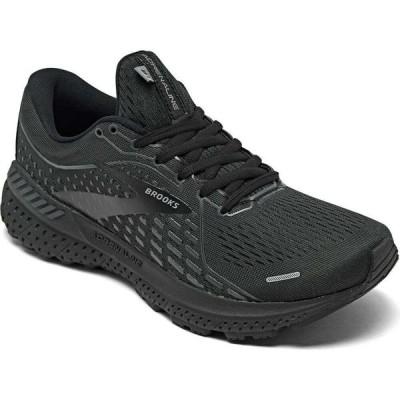 ブルックス Brooks レディース ランニング・ウォーキング スニーカー シューズ・靴 Adrenaline GTS 21 Running Sneakers from Finish Line Black/Ebony