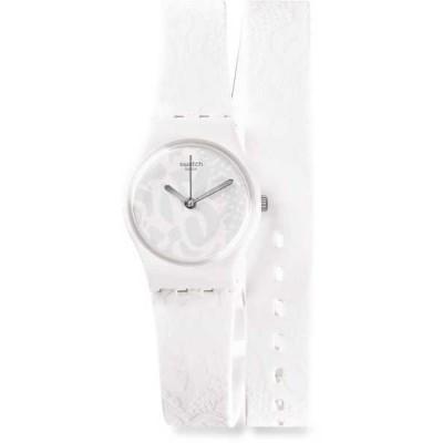 腕時計 スウォッチ  SANGALLO シリコン レディース 腕時計 LW147