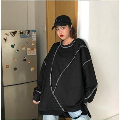 春夏新作 ファッション 人気トップス ブラック ホワイト2色展開