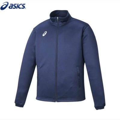 asics/アシックス XAT145 スポーツウェア メンズ トレーニング ジャケットネイビー