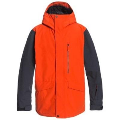 クイックシルバー メンズ ジャケット・ブルゾン アウター Quiksilver Mission 3-in-1 Jacket Pureed Pumpkin