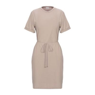 FILIPPA K ミニワンピース&ドレス サンド L オーガニックコットン 100% ミニワンピース&ドレス