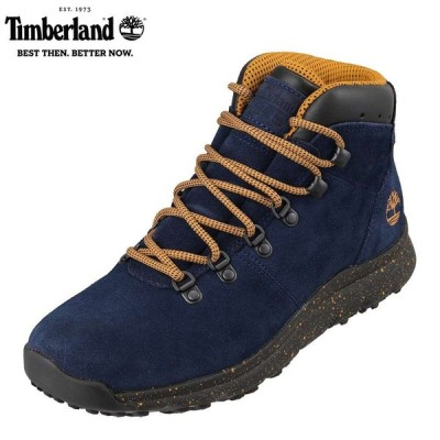 ティンバーランド Timberland TIMB A2177 メンズ | ブーツ | アウトドア | World Hiker Mid | ネイビー