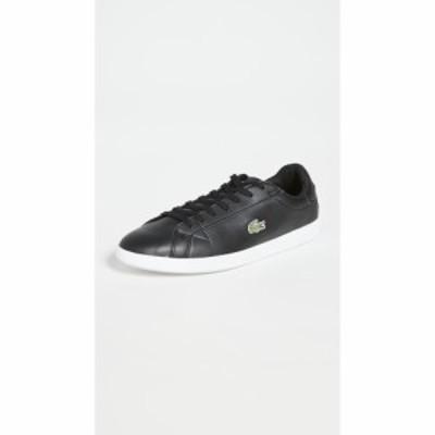 ラコステ Lacoste メンズ スニーカー シューズ・靴 Graduate BL Sneakers Black/White