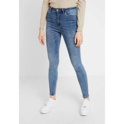 オンリー デニムパンツ レディース ボトムス ONLMILA - Jeans Skinny Fit - medium blue denim