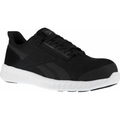 リーボック レディース スニーカー シューズ Women's Reebok Work Sublite Legend Work RB423 Comp Toe Sneaker Black/White Mesh