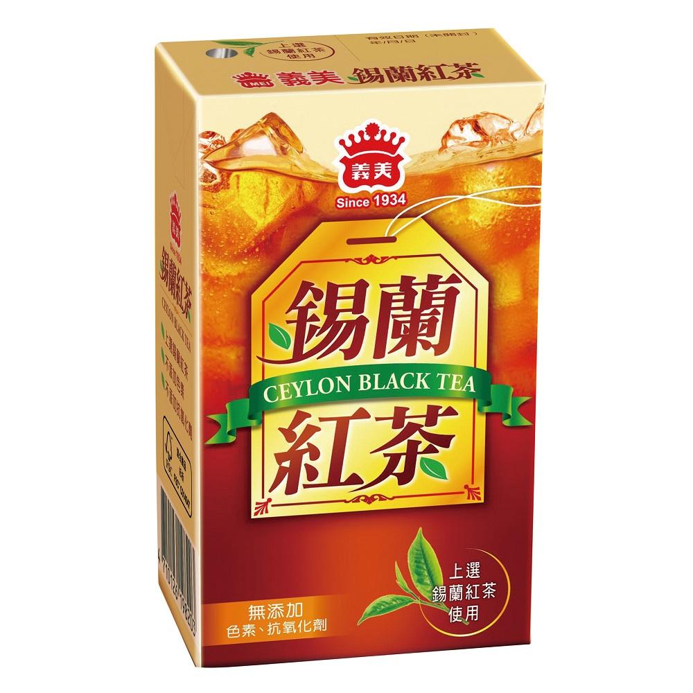 義美 錫蘭紅茶250ml(24入/箱)