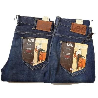 Lee AMERICAN RIDERS 205 タイトジーンズ 加工デニム メンズ デニムパンツ ジーパン 2カラー