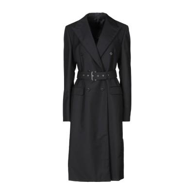 プラダ PRADA コート ブラック 40 モヘヤ 60% / ウール 40% コート