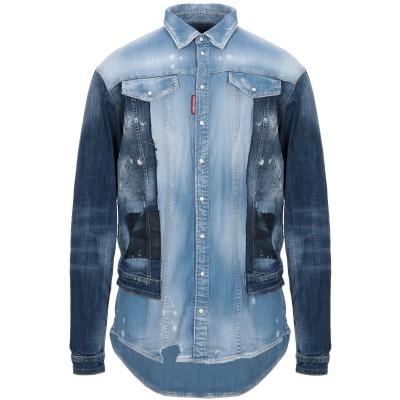 ディースクエアード DSQUARED2 デニムシャツ ブルー 50 コットン 98% / ポリウレタン 2% デニムシャツ