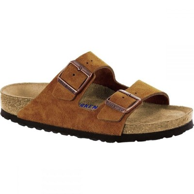ビルケンシュトック Birkenstock レディース サンダル・ミュール シューズ・靴 Arizona Soft Footbed Limited Edition Narrow Sandal Mink Suede
