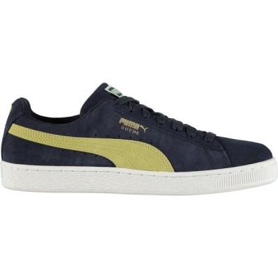 プーマ Puma メンズ スニーカー シューズ・靴 Suede Classic Trainers Peacoat/Yellow