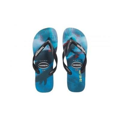 Havaianas ハワイアナス メンズ 男性用 シューズ 靴 サンダル Top Photoprint Sandal - Black/Black/Blue Star