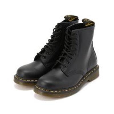 RAWLIFE(ロウライフ)Dr.Martens/ドクターマーチン/1460 8HOLE BOOT -BLACK SMOOTH-【お取り寄せ商品】