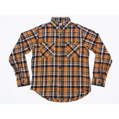 SUGAR CANE[シュガーケーン] ネルシャツ SC26718 TWILL CHECK WORK SHIRT (BEIGE)