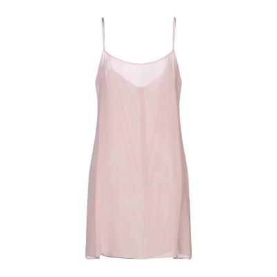 ヴァレンティノ VALENTINO ミニワンピース&ドレス ピンク 46 シルク 91% / ポリウレタン 9% ミニワンピース&ドレス