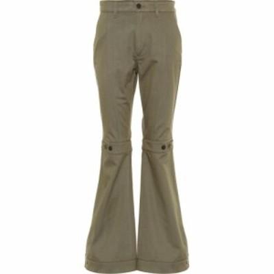 ロエベ Loewe レディース ボトムス・パンツ cotton pants Khaki Green