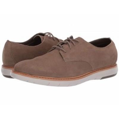 Clarks クラークス メンズ 男性用 シューズ 靴 オックスフォード 紳士靴 通勤靴 Draper Lace Olive Suede w/ Beige Outsole【送料無料】