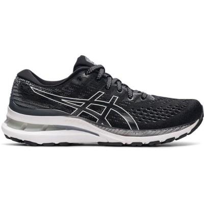 アシックス シューズ レディース ランニング Asics Women's Gel-Kayano 28 Running Shoes Black/White