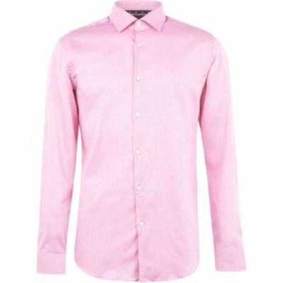 ヒューゴ ボス Hugo メンズ シャツ トップス Long Sleeve Oxford Shirt Bright Pink