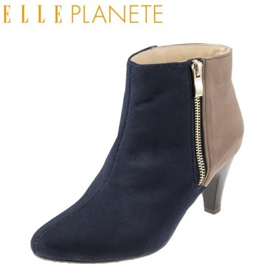 エルプラネット ELLE PLANETE PTL672 レディース|ネイビー×コンビ