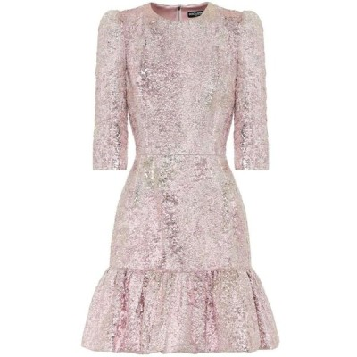 ドルチェ&ガッバーナ Dolce & Gabbana レディース パーティードレス ワンピース・ドレス lame jacquard minidress Jacquard