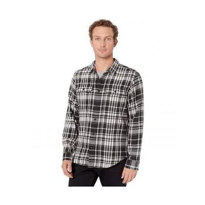 Filson フィルソン メンズ 男性用 ファッション ボタンシャツ Scout Shirt - Black/Cream Plaid
