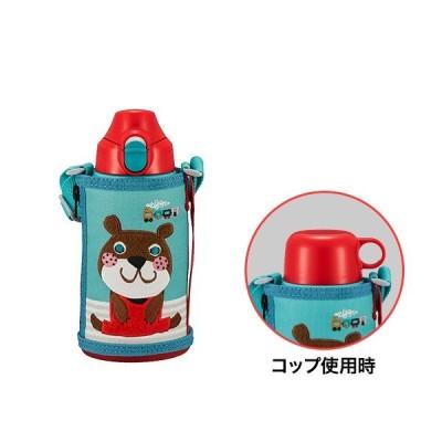 コロボックル 水筒 タイガー魔法瓶 ステンレスボトル 2WAY MBR-C06GGA アニー コップ 直飲み 子ども用
