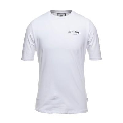 BALR. T シャツ ホワイト M コットン 95% / ポリウレタン 5% T シャツ