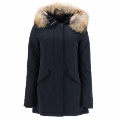WOOLRICH/ウールリッチ ファージャケット MIDNIGHT BLUE Woolrich luxury arctic parka with murmasky fur レディース WWOU0296 FRUT0573