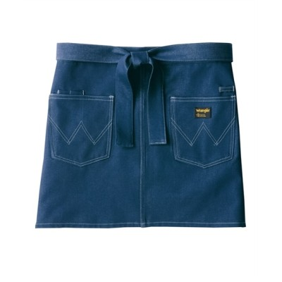 AZ-64382 アイトス Wrangler ショートエプロン(男女兼用) 【業務用】コック服