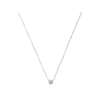 サマンサティアラ ネックレス ダイヤモンドネックレス K18 ホワイト Samantha Tiara
