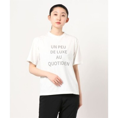 tシャツ Tシャツ Demi-Luxe BEAMS / embrasse プリント Tシャツ