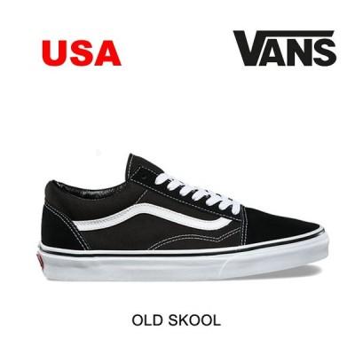 VANS ヴァンズ スニーカー SNEAKER OLD SKOOL BLACK/WHITE USAモデル