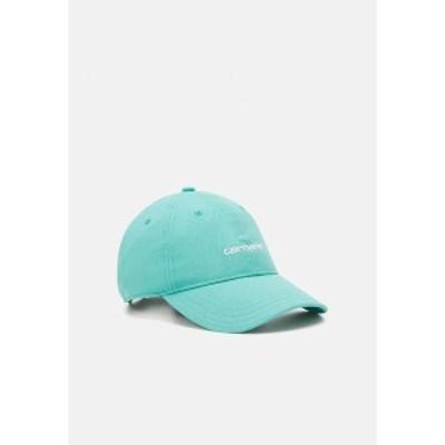 カーハート メンズ 帽子 アクセサリー SCRIPT UNISEX - Cap - turquoise/white turquoise/white