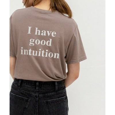 tシャツ Tシャツ バックロゴTシャツ