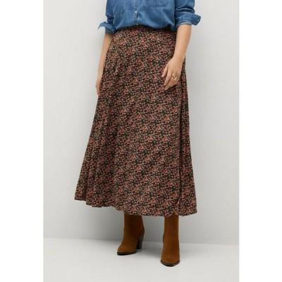 ビオレタ バイ マンゴ スカート レディース ボトムス MOSSY8 - A-line skirt - black