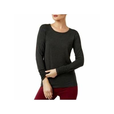 レディース 衣類 トップス ALFANI Womens Gray Long Sleeve Top Size: XXL ブラウス&シャツ