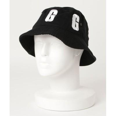 atmos pink / UGGmos  LOGO EMBROIDERY BUCKET HAT / アグ ロゴ エンブロイダリー バケット ハット WOMEN 帽子 > ハット