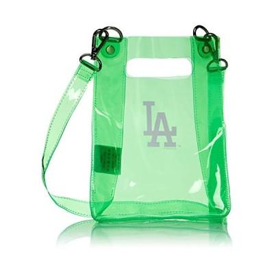 メジャーリーグベースボール MLB ドジャース クリアショルダーバッグ 2WAY LA-CSD02 LA-CSD02 ネオングリーン