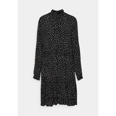 カフェ ワンピース レディース トップス KABILLIE AMBER DRESS - Day dress - black/chalk