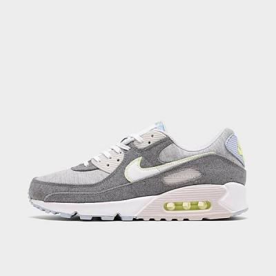 ナイキ メンズ エアマックス90 Nike Air Max 90 NRG Recycled Canvas スニーカー Vast Grey/White/Barely Volt