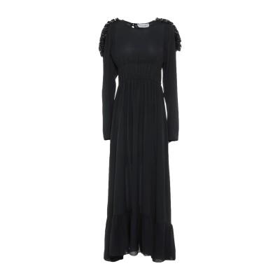オディエアモ ODI ET AMO ロングワンピース&ドレス ブラック XS ポリエステル 100% ロングワンピース&ドレス