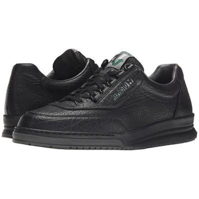 メフィスト オックスフォード メンズ Match Black Full Grain Leather