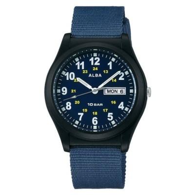 (国内正規品)(セイコー)SEIKO 腕時計 AQPJ409 (アルバ)ALBA メンズ ナイロンバンド クオーツ アナログ