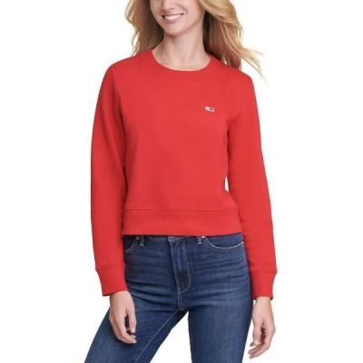 トミー ヒルフィガー レディース シャツ トップス Flag Logo Graphic Sweatshirt