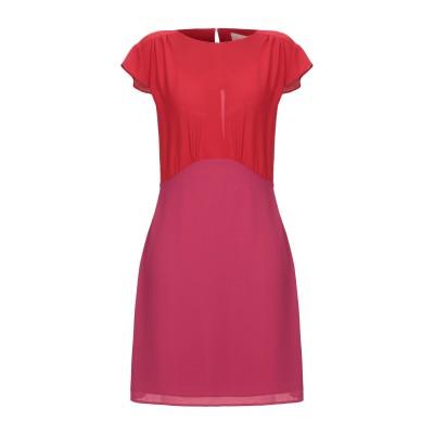 メルシー ..,MERCI ミニワンピース&ドレス レッド 38 ポリエステル 100% ミニワンピース&ドレス