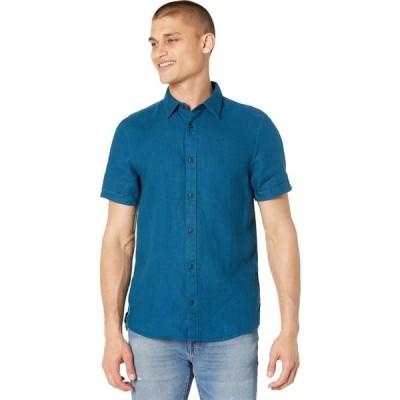 スコッチ&ソーダ Scotch & Soda メンズ 半袖シャツ トップス Regular Fit - Classic Short Sleeve Shirt Sinister Green